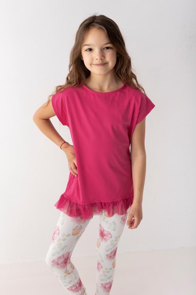 stylowe bluzki z krótkim rękawem dla dziewczynek